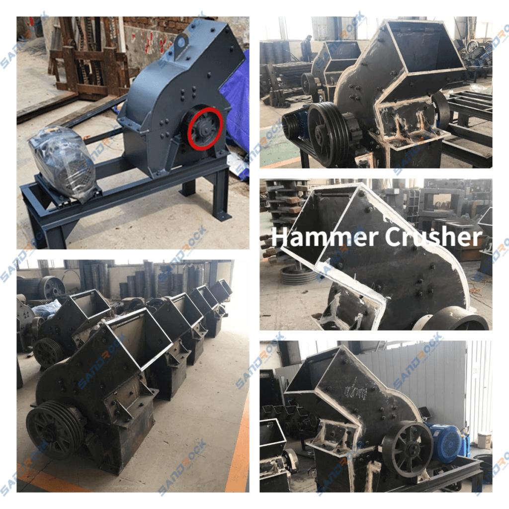 sandrock mining hammer crusher